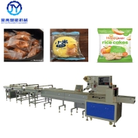 China 2.4KW 200bags/Min SUS304 Automatic Packing Machine For Rice Cake wholesale