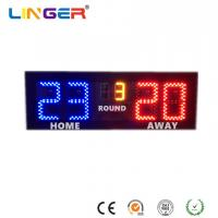 China Badminton LED Electronic Scoreboard With 6 Inches Digits For Indoor Use wholesale