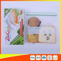 China Food Stroage Plastic Sandwich Bags LDPE / Zip Up Storage Bags For Supermarket wholesale