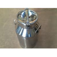 Quality Stainless Steel Liquid Storage Tanks / Milk Cans / Milk Bottles , FDA Certificate Approved for sale