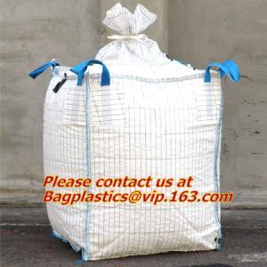 China big bags 1500kg jumbo bag cheap price 1 ton pp woven jumbo bags packaging,circular big fibc bags pp woven fabric one ton wholesale