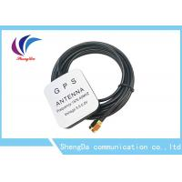 China Waterproof 28dBi Gain Automotive Gps Antenna 1575.42MHz Aerial Strong Magnet wholesale