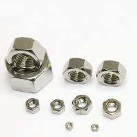 China Standard 1 Inch Machine Screw Nut , Steel Lock Nut For Industrial Applications wholesale