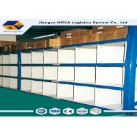 China Archive Home Garages Longspan Shelving Cold Rolling Steel With Step Beams wholesale