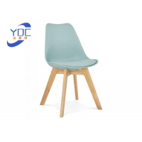 Buy cheap Luxury Suede Modern Wooden Low Back Tufted Dining Room Chairs from wholesalers