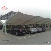 China Flame Retardant Tensile Membrane Structures With Waterproof PVC Fabric on sale