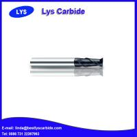 China 2-flute flattened end mills with straight shank and long cutting edge wholesale