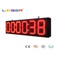 China IP65 Front Wall LED  Digital Clock for Bus Station / Train Station wholesale