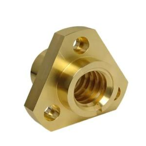 China PVD Gold Plating H65 H68 0.02mm Brass Machining Parts wholesale