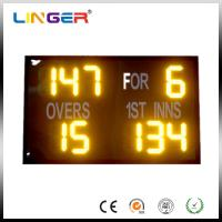 China Outdoor Easy Operation Cricket Digital Scoreboard With 2 Years Warranty wholesale