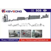 Nutritional Artificial Rice Making Machine Stainless Steel Twin Screw Extruder 150Kg / H Capacity