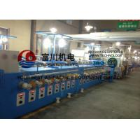 Buy cheap 24Pcs Alloy Wire Annealing / Cable Coiling Machine For Single Wire Dia 0.04 - 0.127mm from wholesalers