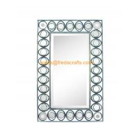 China Export Quality Factory Price Metal Framed Different Antique Color Finish Rectangle Wall Mirror wholesale