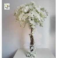 China UVG CHR124 Wedding Stage Decoration Life size Silk Orchids Artificial Tree Centerpiece wholesale