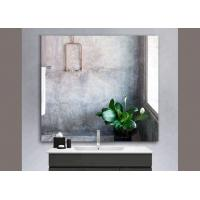 China Fashion Silver Framed Bathroom Mirrors Thickness 3~6mm For Interior Decorative wholesale
