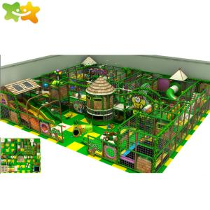 China Jungle Theme Kids Play Park Games Indoor Soft Play Playground For Adventure Park wholesale