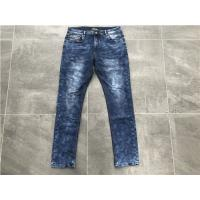 China Soft Handfeel Mens Denim Jacket And Jeans Dark Wash Skinny Denim Jeans TW73248 wholesale
