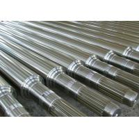 China 1.6580(30CrNiMo8,30CND8,823M30)Forged Forging Steel Roller Rolls roller shafts wholesale