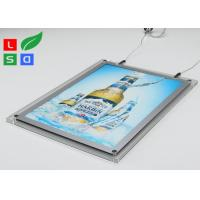 2mm Clear Acrylic LED Crystal Light Box HS Code 94056000 For Ceiling Hanging