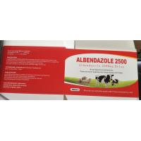 Buy cheap Albendazole 300MG 2500MG Veterinary Tablets Granular Antibiotic Drug from wholesalers