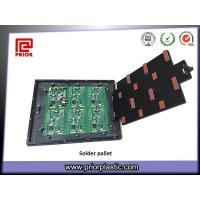 China Custom Wave Solder Pallet with Top Hat Plate wholesale