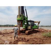 Quality Rotary Drilling Rig With Caterpillar Chassis For Road Construction Equipment wholesale