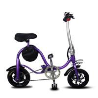 China Disc Brake Fold Up Electric Bike Aluminum 6061 Body Material S1 Stem Folding wholesale