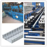 China material thickness 1.6 to 2.5mm cable tray roll forming machine drive way 1.5 inch Chain fast wholesale