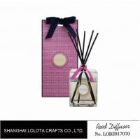 China Professional Home Reed Diffuser Square Shaped SGS ITS BV Certificated wholesale
