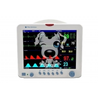 China 5 Parameter Patient Monitor Pet Use Multi Parameter Monitoring System for Vet Animal Patient Monitoring Devices wholesale
