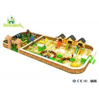 Buy cheap Soft Safe Amusement Kids Play Park Customized Design For 3 - 15 Years Old from wholesalers