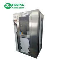 China Stainless Steel Air Shower Clean Room Equipment 62dB Noise For Class 100 Clean Room wholesale