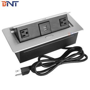China universal power plug with rj45 lan,rj11,hdmi ,vga,audio tv/office furniture pop up socket retractable socket on sale
