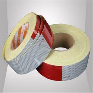 China High visibility 3M Truck Reflective Tape adhesive safefy warning sticker wholesale