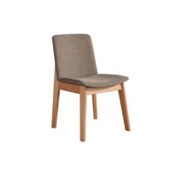 China Color Selectable Beech Dining Chair With High Density Foam Mats wholesale