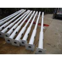 China Superior Galvanised treatment steel street light pole 8M street lamp post for sale with CE wholesale