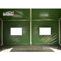 China High quality aluminum and PVC waterproof outdoor military marquee tent, Outdoor Customized Size Small Military Tent wholesale