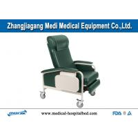 Quality Mechanical Dialysis Chairs , Manual Blood Donor Chair With Folding Leg Section for sale
