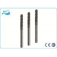 China 55 / 60 / 65 Hardness Hard Milling End Mill with 50 - 100 mm Overall Length wholesale