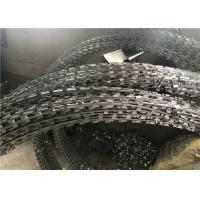 China Professional Razor Blade Fencing Hot Dipped Galvanized Coiled For Military wholesale