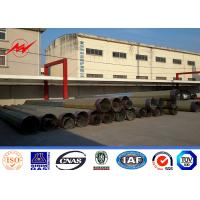 China 11.8M 20KN Gr65 Material 4mm Electric Power Pole for 69KV Power Transmission wholesale