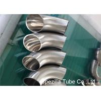 China Hygienic Valves And Fittings 1/2'' - 12'' , TP304 316L Stainless Steel Sanitary Weld Fittings wholesale