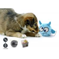 Colorful Electronic Battery Operated Dog Toy Interactive Bouncing For Play for sale