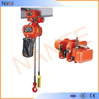 Quality 1 Ton Pneumatic Electric Chain Hoist For Overhead Crane ISO / CE / CCC for sale
