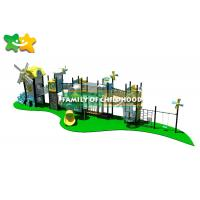 China CE Certificated Outdoor Playground Slide Outdoor Children Park Plastic Slide wholesale