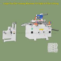 China Anti - scratch Hot Stamping Foil Label Paper Die Cutting Machine For Film Cutting wholesale