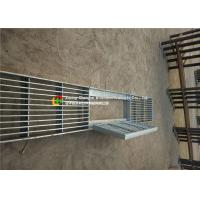 Quality House Drain Hot Dipped Galvanized Steel Grating 24 - 200mm Cross Bar Pitch for sale