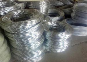 China Bwg20 Diameter 30kg Per Coil Hot Dipped Galvanized Iron Wire wholesale