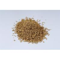 Buy cheap Brown Colored Rubber Granules Nontoxic Fragmented Skid - Proof Crumb from wholesalers