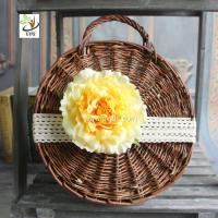 China UVG wholesale silk flowers in individual artificial penoy for floral wall backdrop arrangements FPN113 wholesale